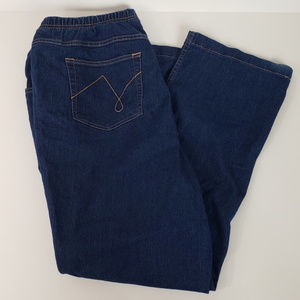 Just My Size Pull On Jeans size 18W/20W